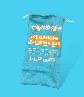 Cellphone Sleeping Bag
