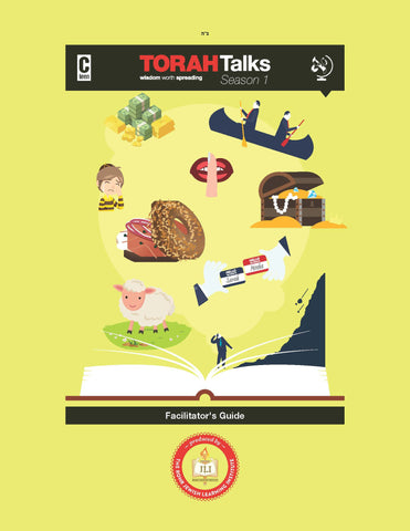 JLI Torah Talks Parsha Guide-Teacher Edition (Season 1 )