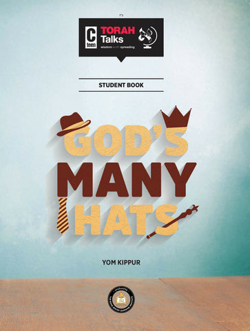 JLI Holiday Series - Yom Kippur (Teacher Edition) G-d's Many Hats
