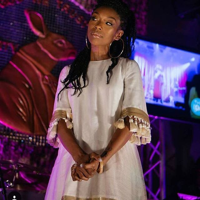 Brandy in Mestiza New York at Los Angeles event