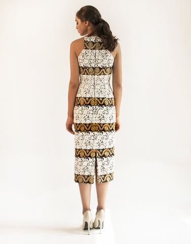 Flame Tree Midi Dress