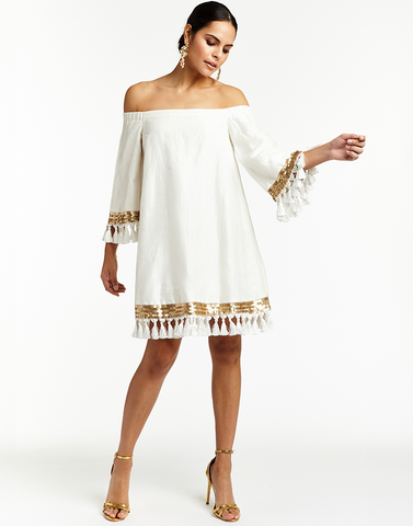 Shimmy Shimmy Tassel Dress