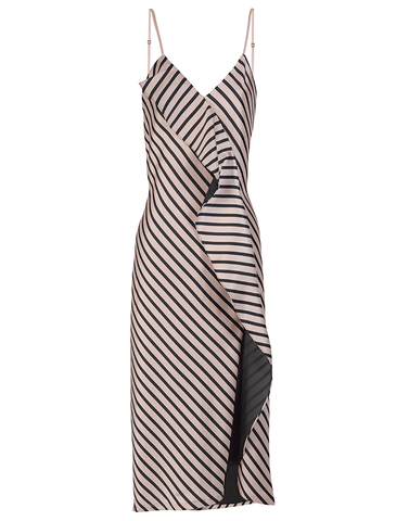 Alcantara Striped Dress