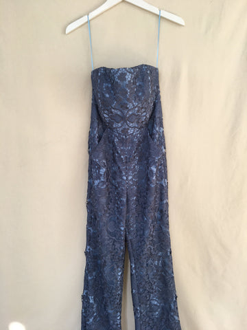 SAMPLE Retro Lace Strapless Jumpsuit