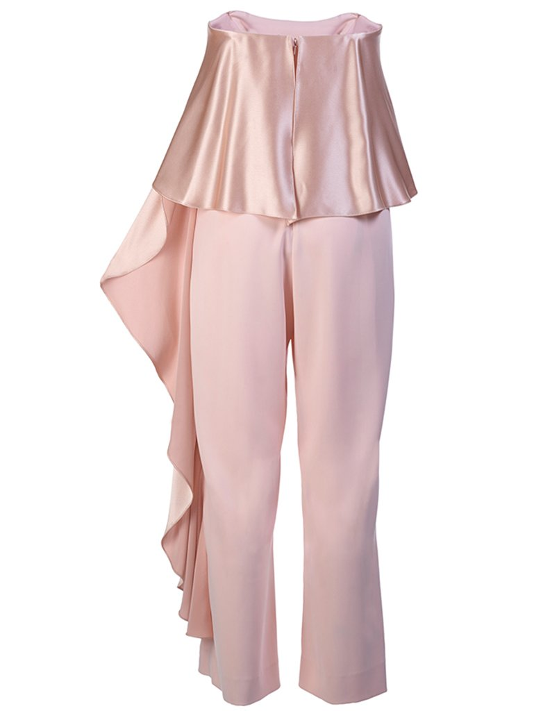 Jacqueline Cropped Ruffle Jumpsuit- Available at Shopbop