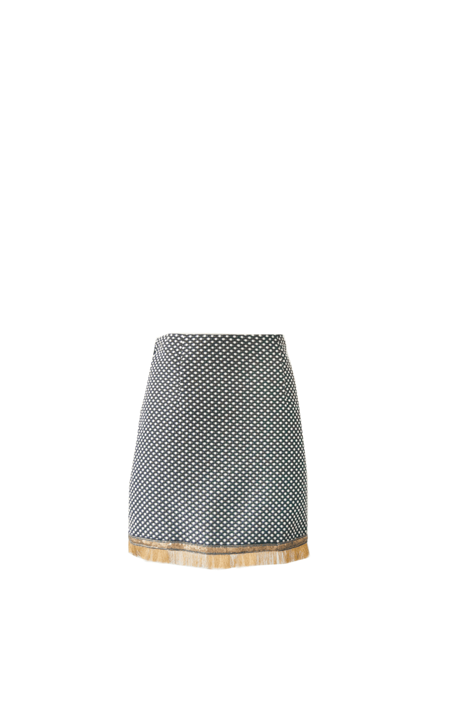 Pili Polka Dot Mini Skirt