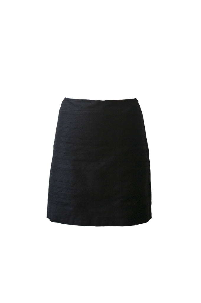 Pili Thai Silk Mini Skirt