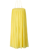 Paloma Pleated Chiffon Midi