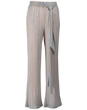 Mestiza New York Reina Pants in Stripe Rainbow Knit with Sparkle Metallic