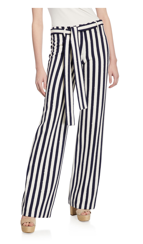 LEILA NAUTICAL STRIPE PANT