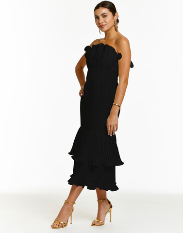 Hannah One Shoulder Midi