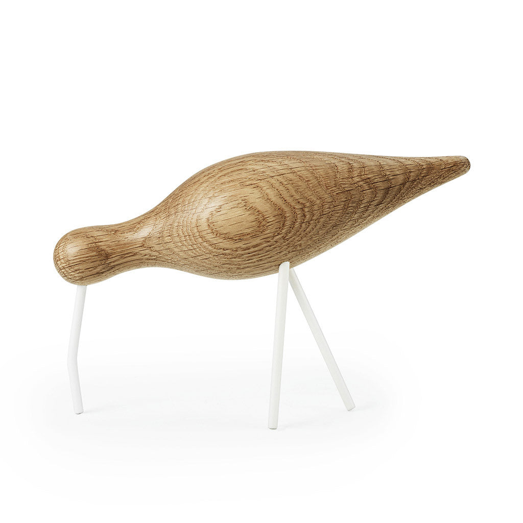 Large Shorebird in White by Normann Copenhagen - Made Modern - 1