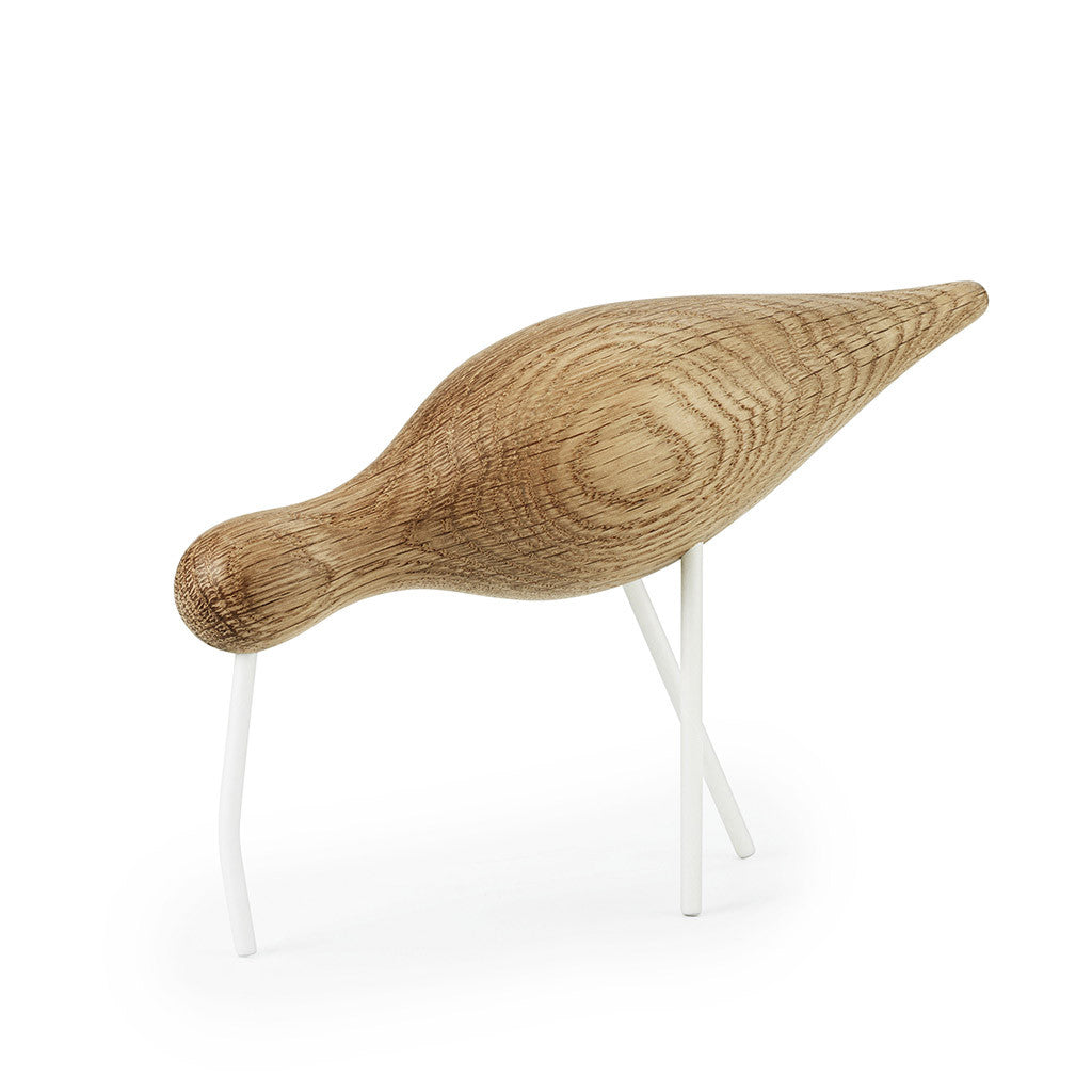Large Shorebird in White by Normann Copenhagen - Made Modern - 2
