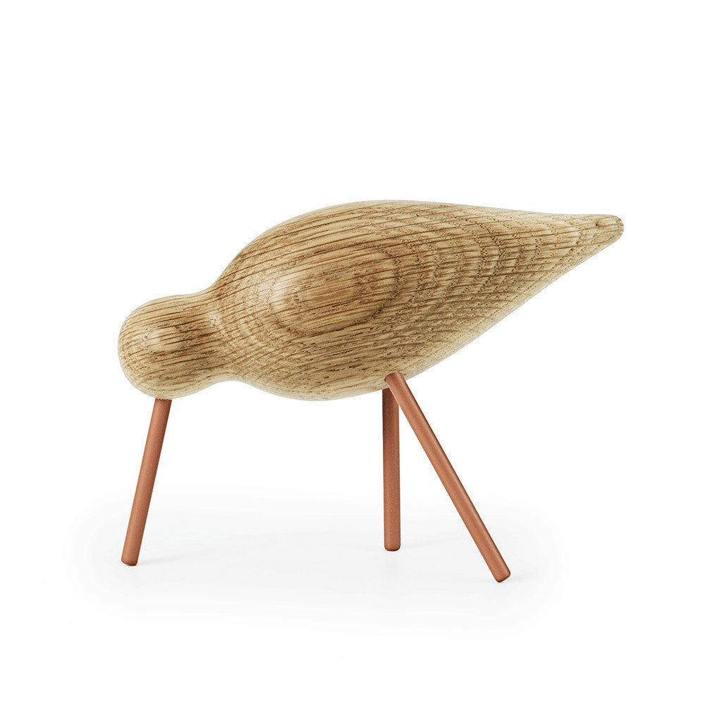 Medium Shorebird in Coral by Normann Copenhagen - Made Modern - 1