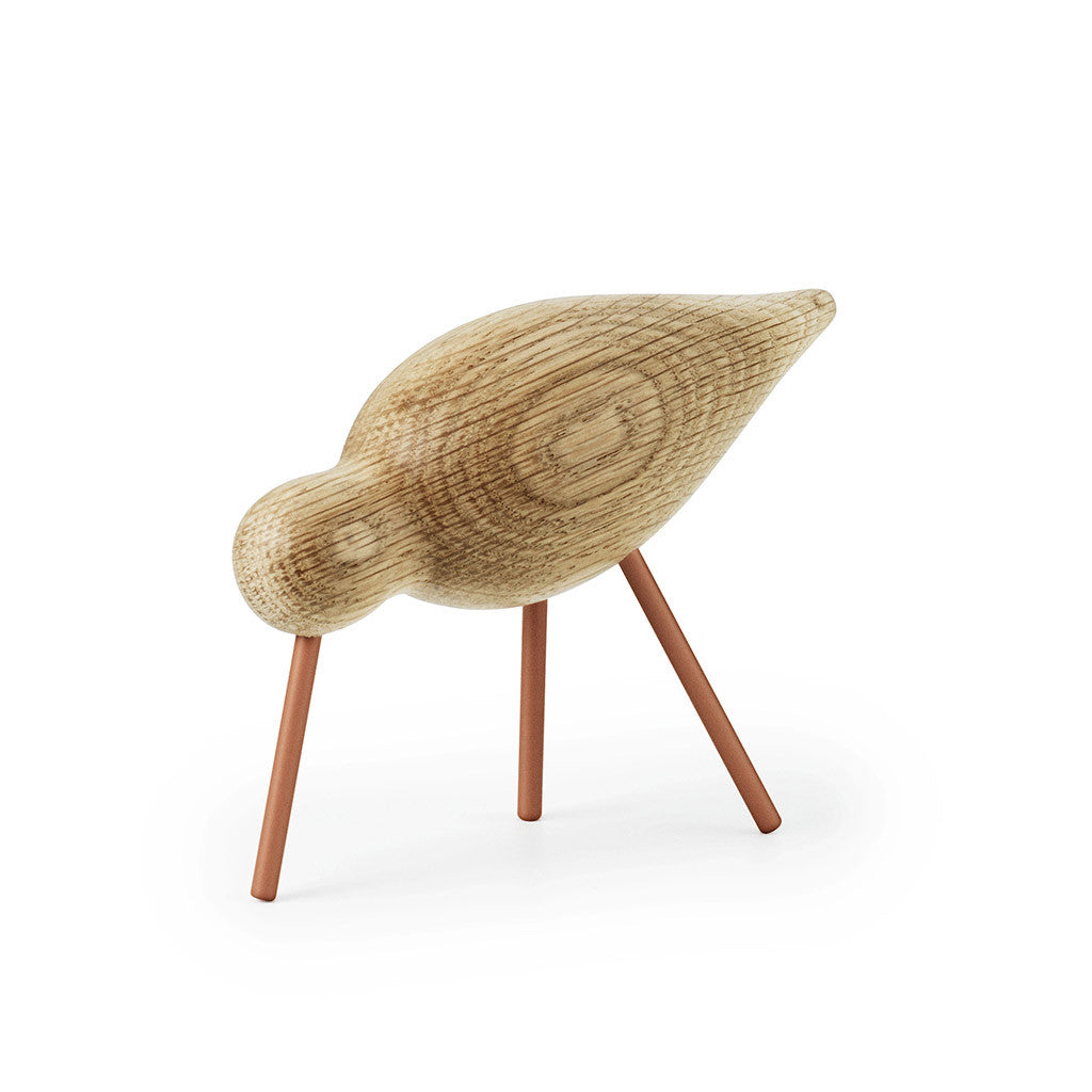 Medium Shorebird in Coral by Normann Copenhagen - Made Modern - 2