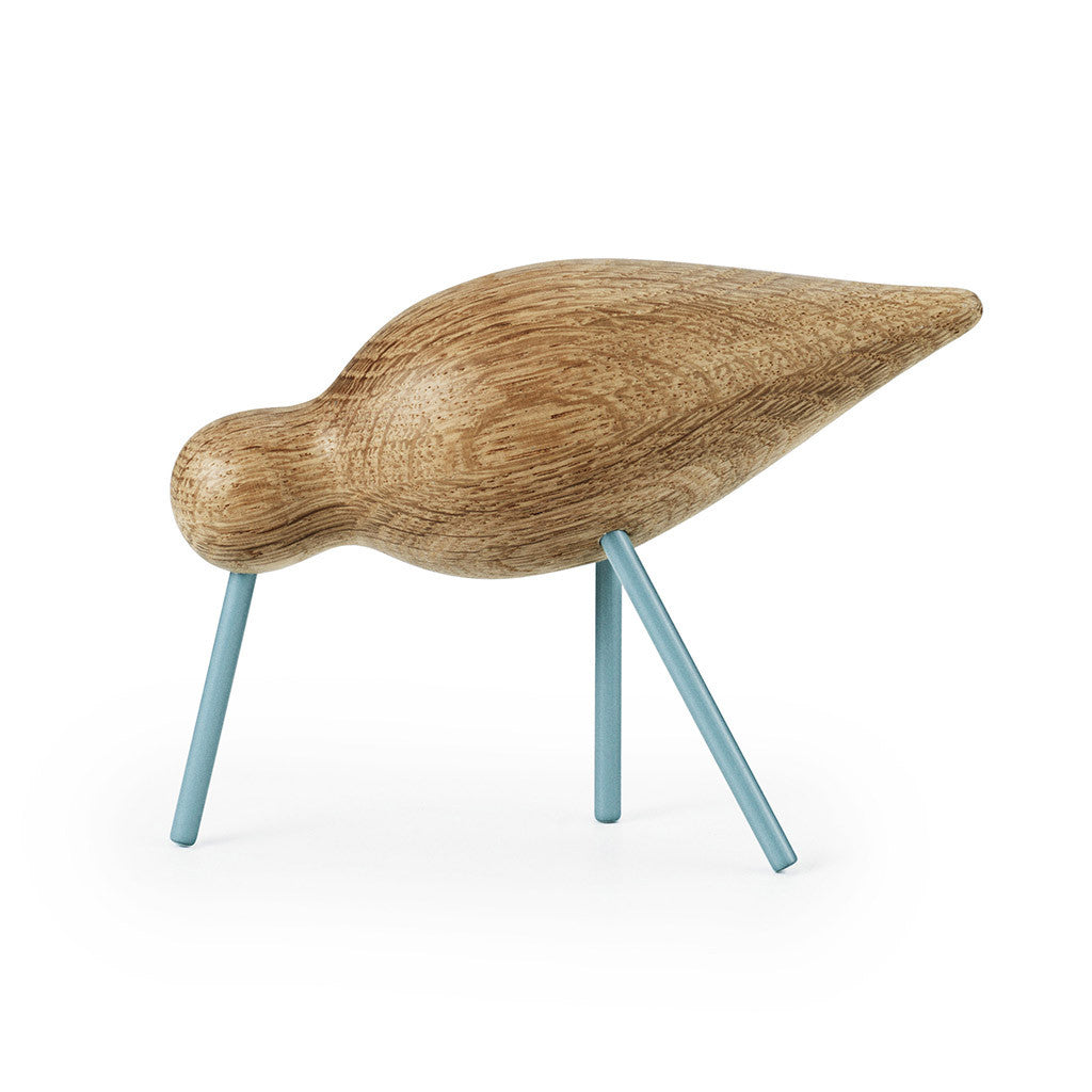 Medium Shorebird in Sea Blue by Normann Copenhagen - Made Modern - 1