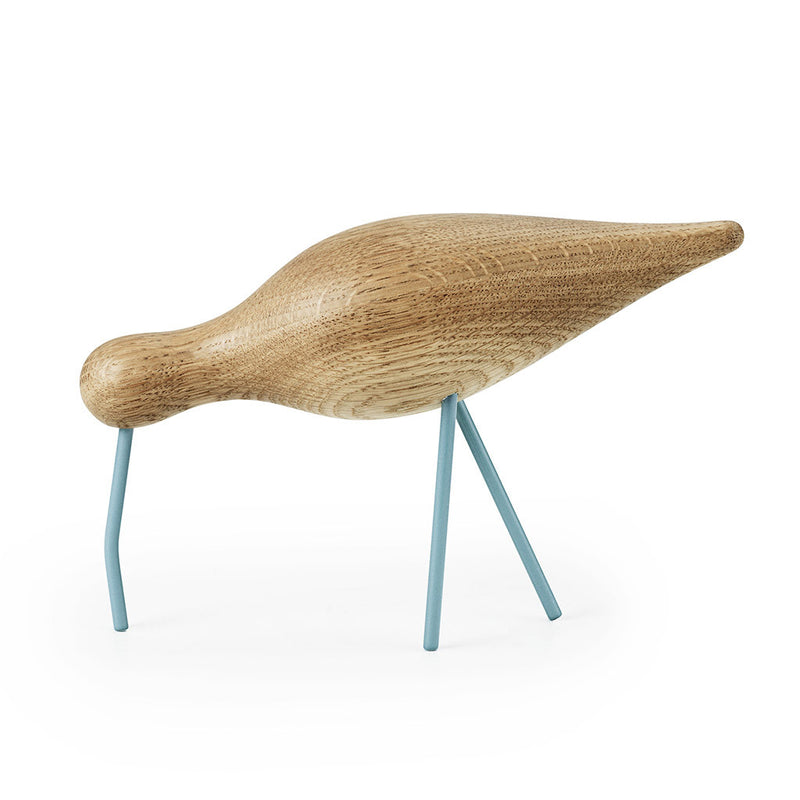 Large Shorebird in Sea Blue by Normann Copenhagen - Made Modern - 1
