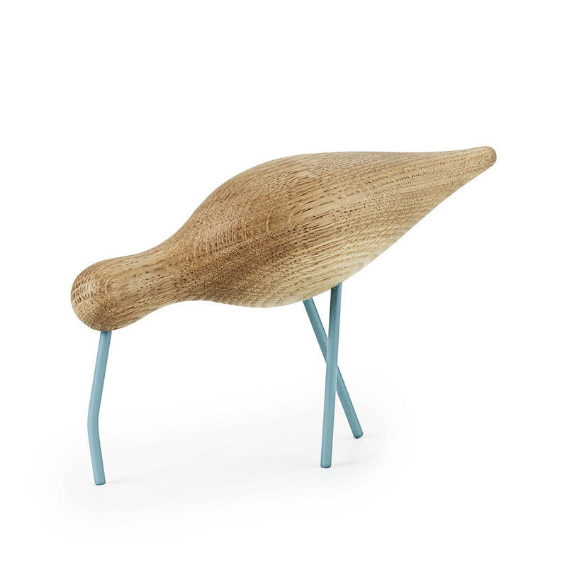 Large Shorebird in Sea Blue by Normann Copenhagen - Made Modern - 2