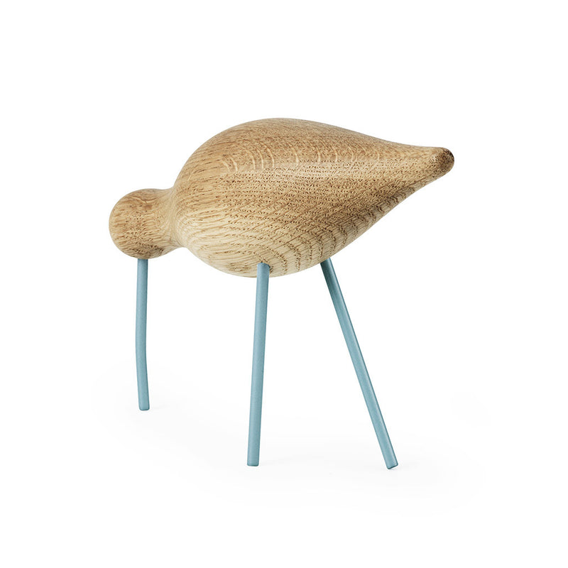 Large Shorebird in Sea Blue by Normann Copenhagen - Made Modern - 3