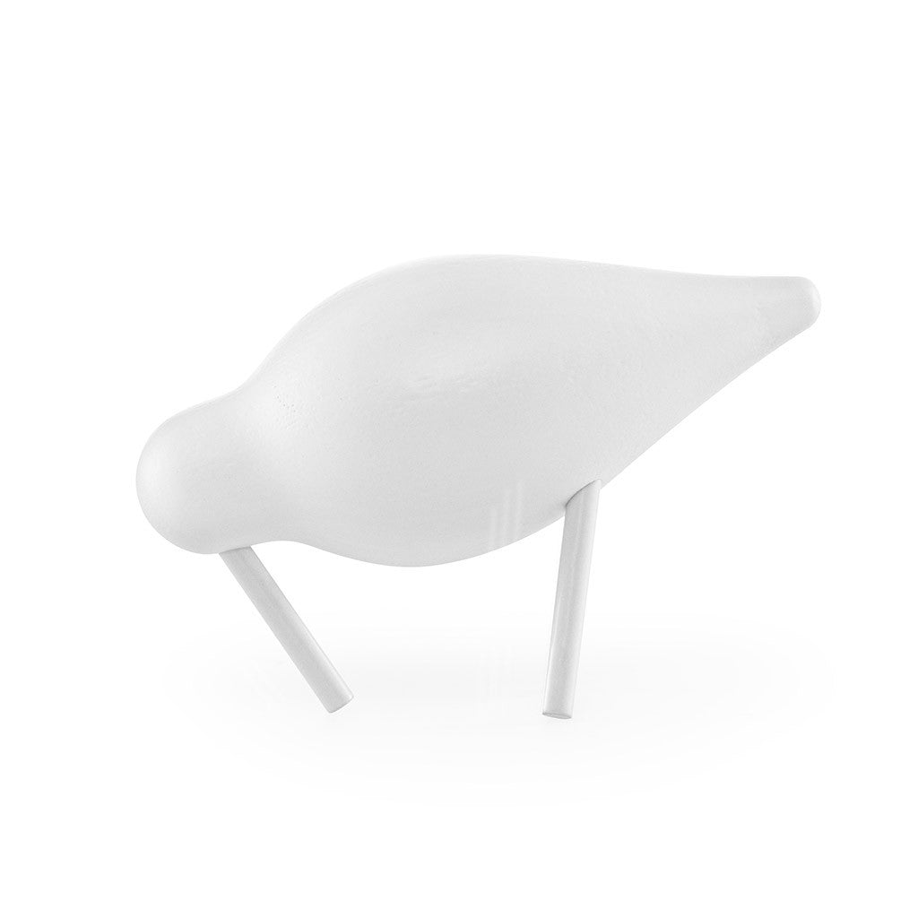 Small Shorebird in White by Normann Copenhagen - Made Modern - 1