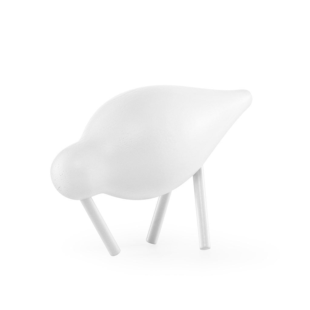 Small Shorebird in White by Normann Copenhagen - Made Modern - 2