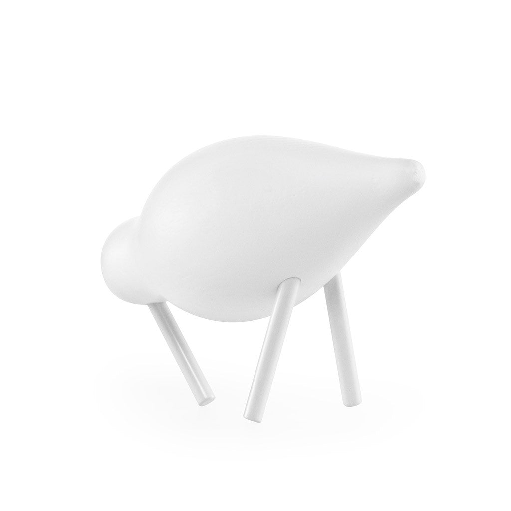 Small Shorebird in White by Normann Copenhagen