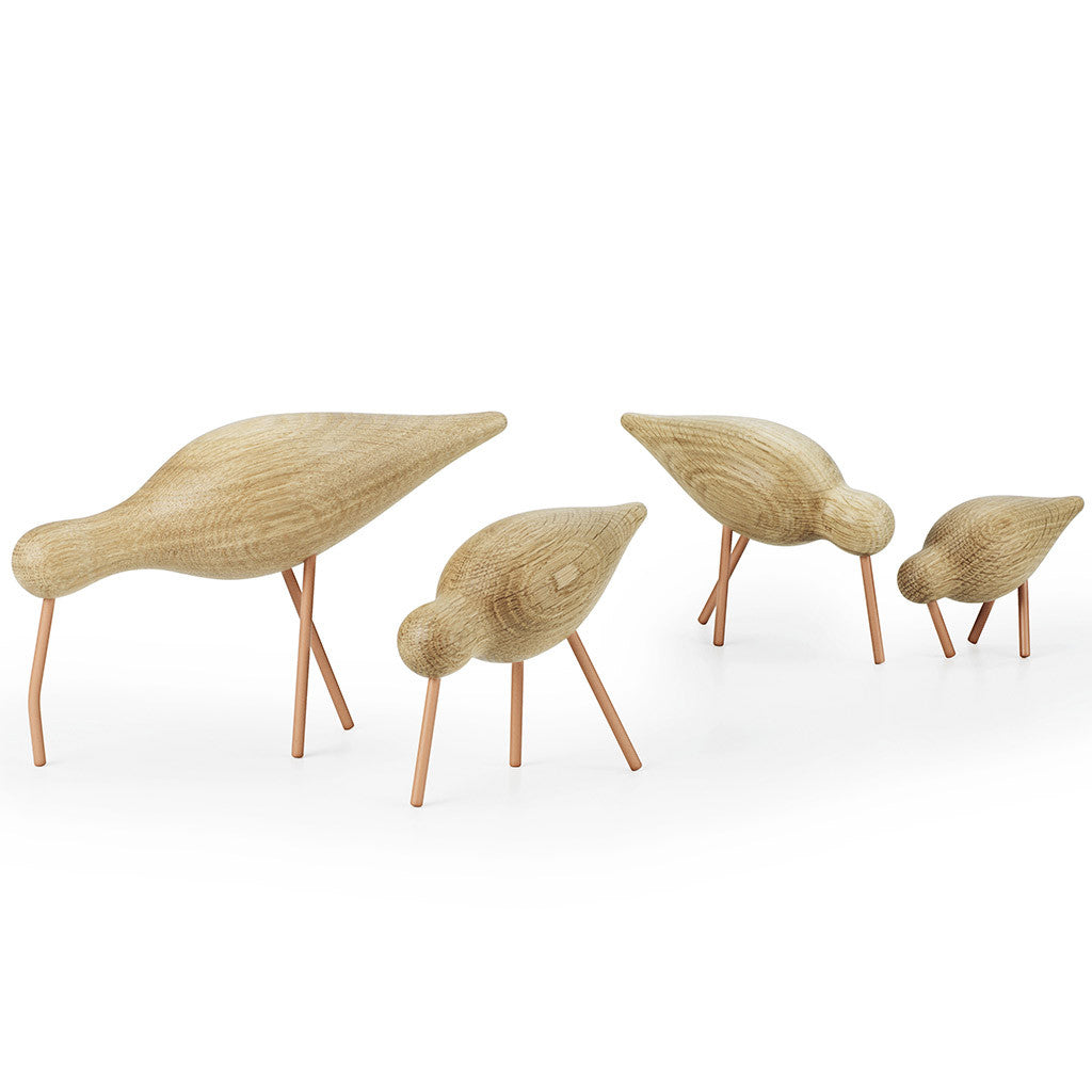 Medium Shorebird in Coral by Normann Copenhagen - Made Modern - 4