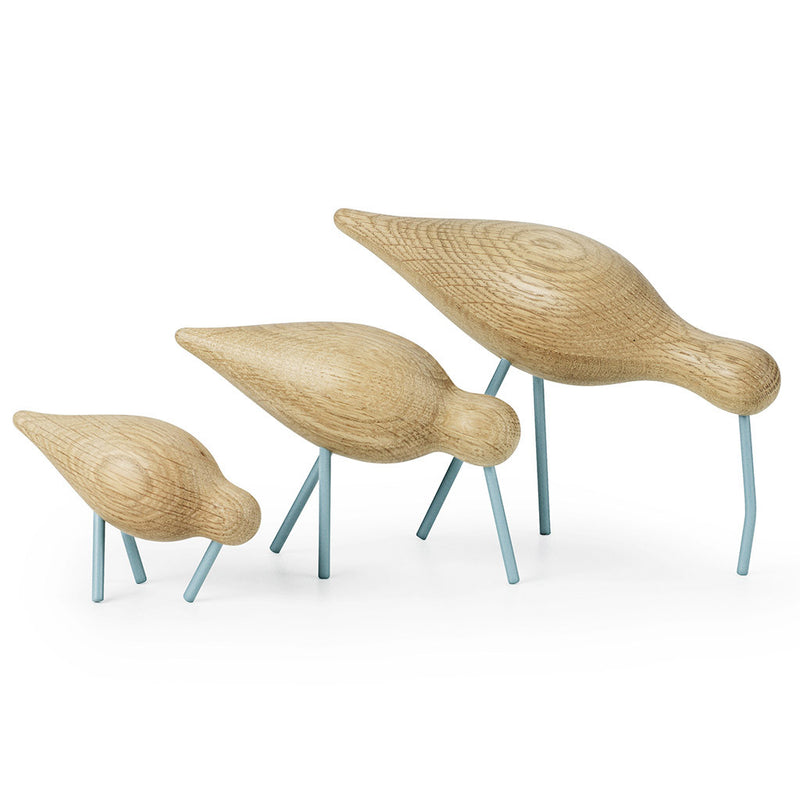 Large Shorebird in Sea Blue by Normann Copenhagen - Made Modern - 4