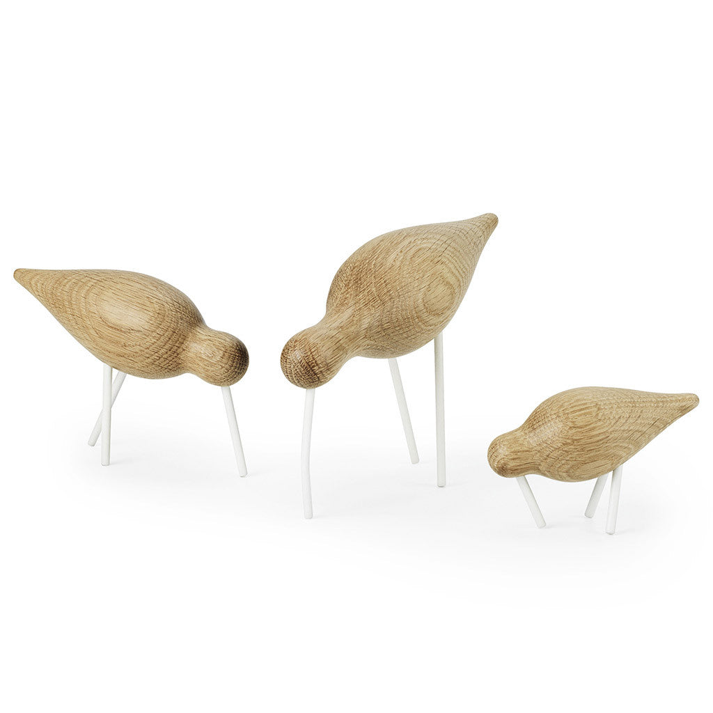 Medium Shorebird in White by Normann Copenhagen - Made Modern - 4