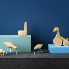 Swan in Natural Oak by Normann Copenhagen - Made Modern - 5