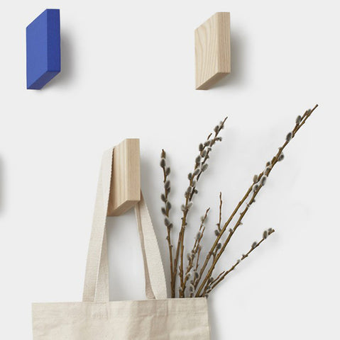 Parallelogram Hook in Blue by Umbra Shift - Made Modern - 3