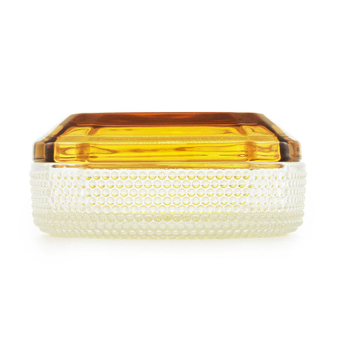 Large Brilliant Box in Amber by Normann Copenhagen - Made Modern - 4