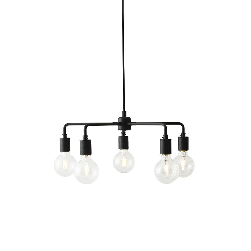 Tribeca Leonard Chandelier in Black by Menu - Made Modern - 1