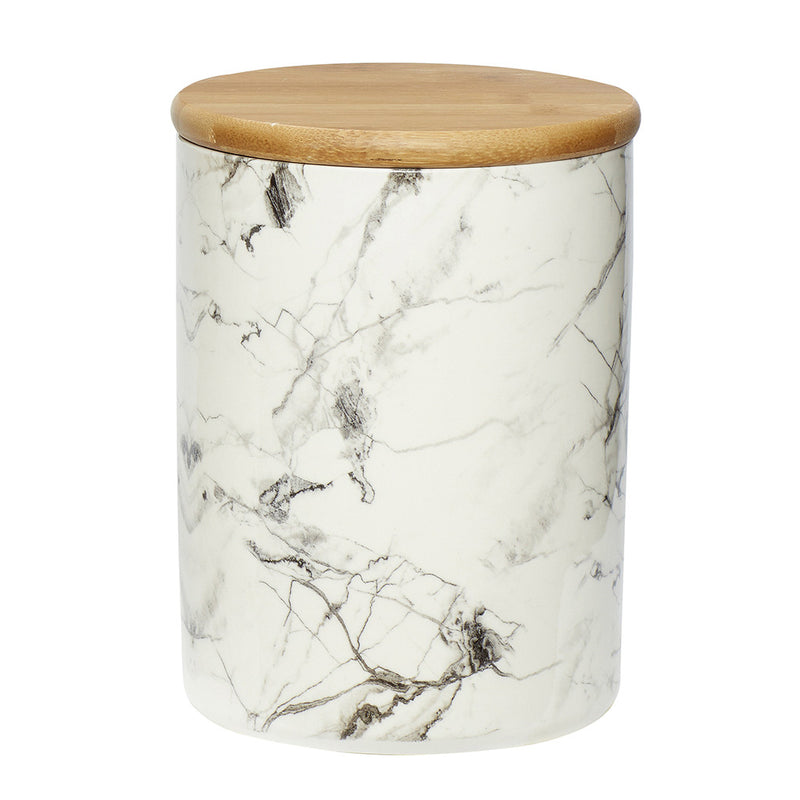 Marble Patterned Jar by Hubsch - Made Modern