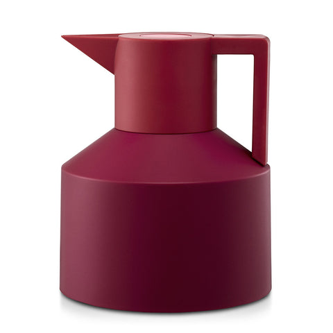 Geo Vacuum Jug in Red by Normann Copenhagen - Made Modern - 1