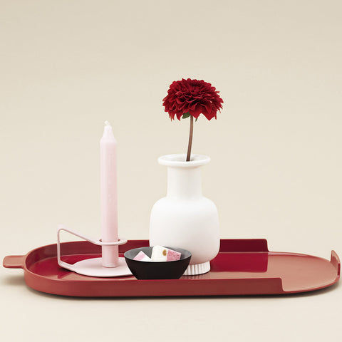 Nocto Candlestick in Rose by Normann Copenhagen - Made Modern - 2
