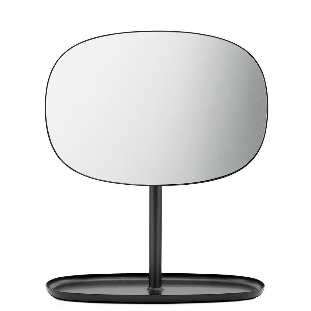 Flip Mirror in Black by Normann Copenhagen - Made Modern - 1