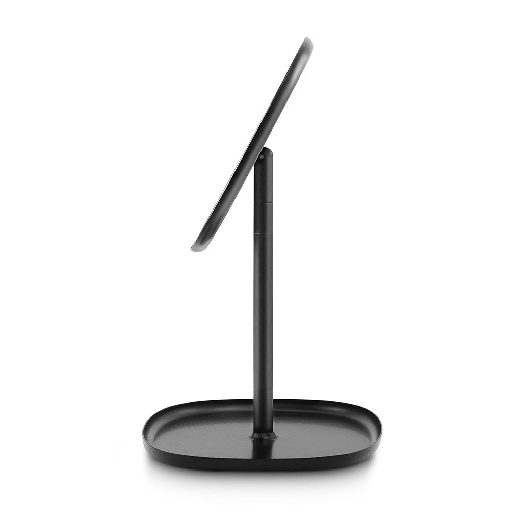Flip Mirror in Black by Normann Copenhagen - Made Modern - 2
