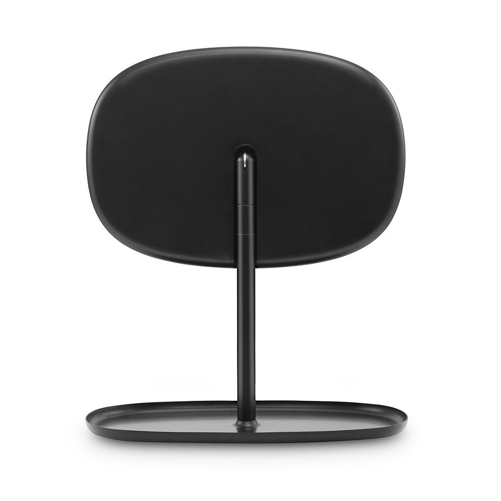 Flip Mirror in Black by Normann Copenhagen - Made Modern - 3