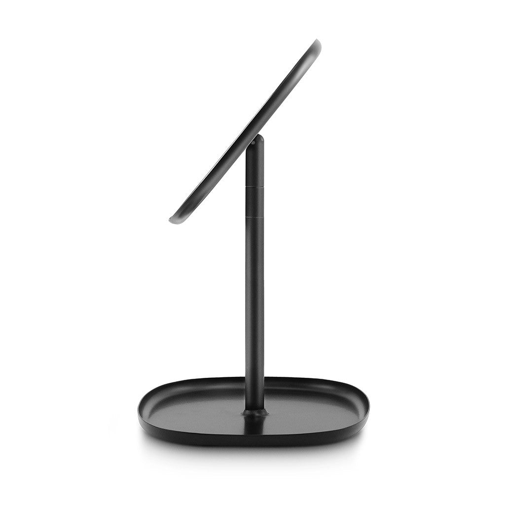 Flip Mirror in Black by Normann Copenhagen - Made Modern - 9