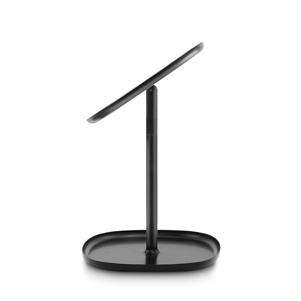 Flip Mirror in Black by Normann Copenhagen - Made Modern - 10