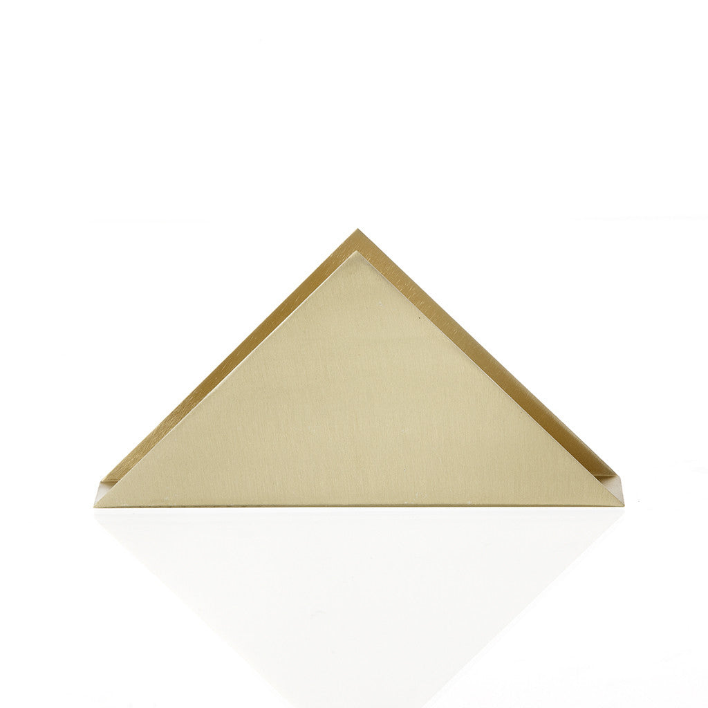 Triangle Stand in Brass by Ferm Living - Made Modern - 2