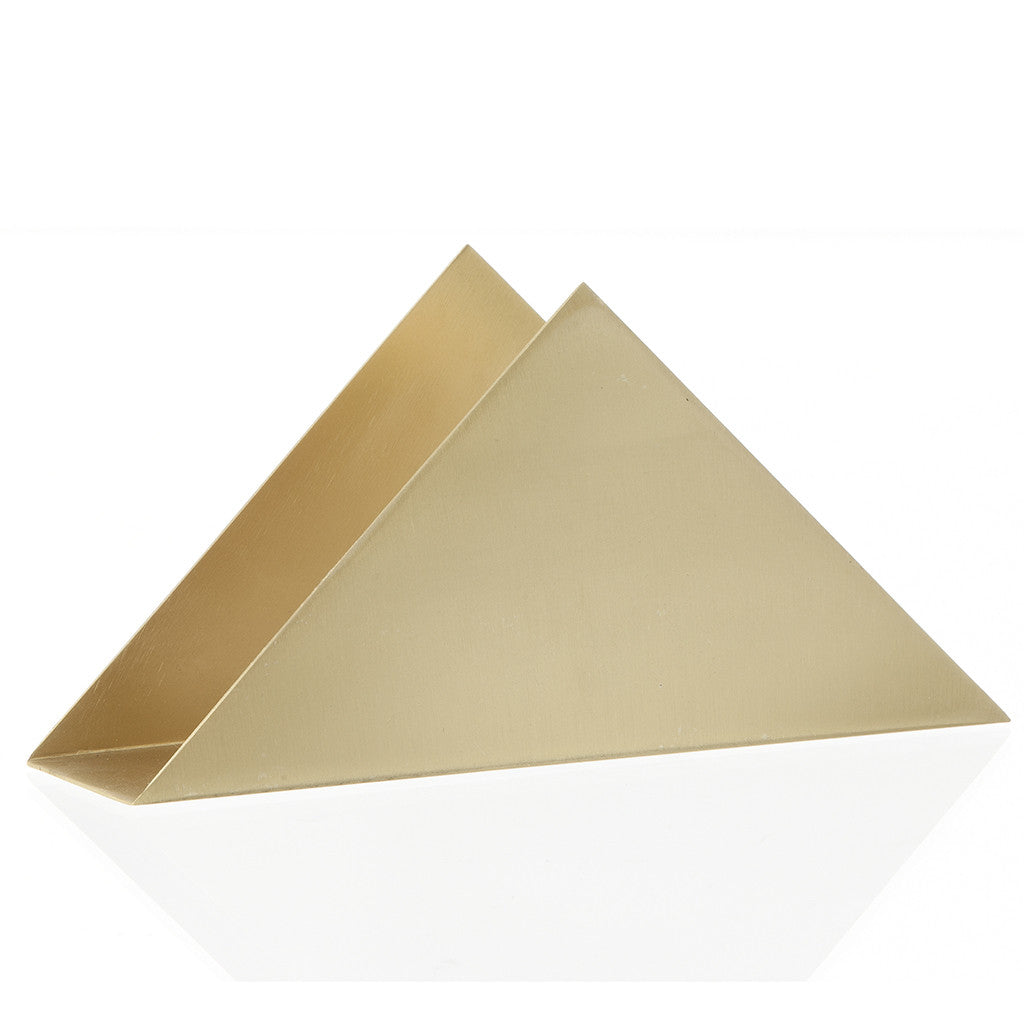 Triangle Stand in Brass by Ferm Living - Made Modern - 3