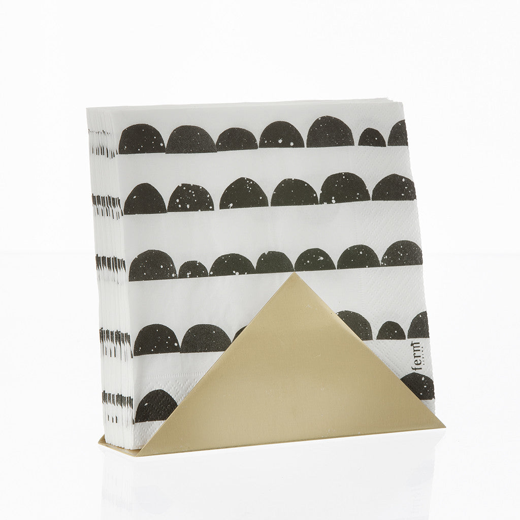 Triangle Stand in Brass by Ferm Living - Made Modern - 1