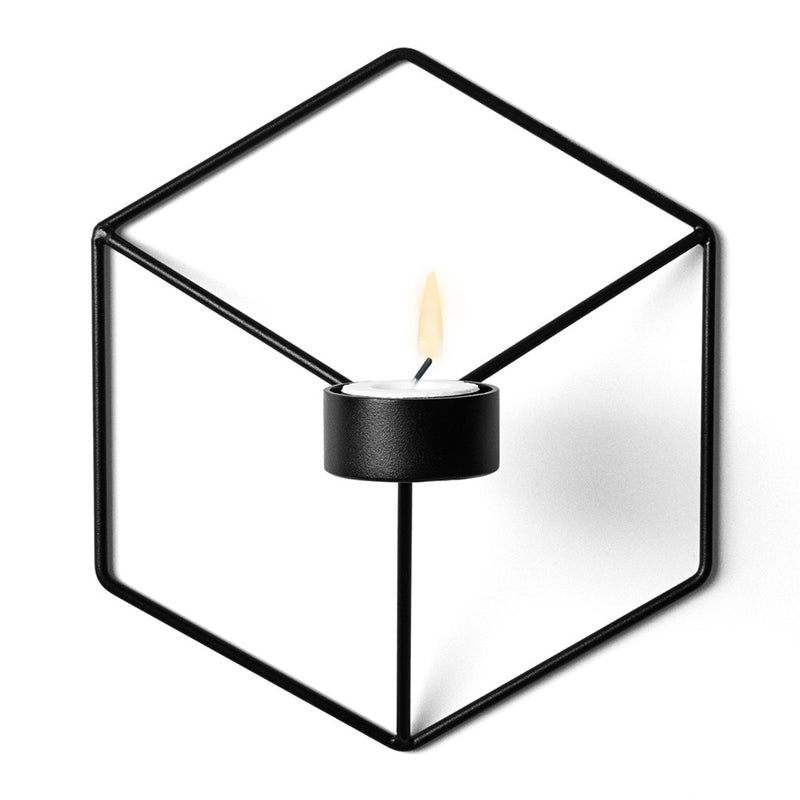 POV Candle Holder in Black by Menu - Made Modern - 1