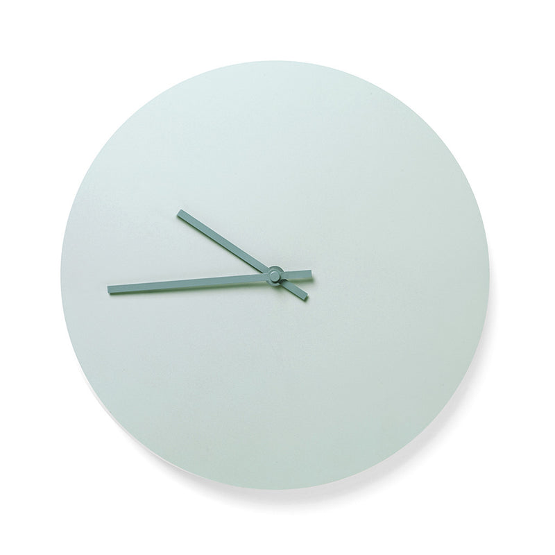 Norm Steel Clock in Green by Menu - Made Modern