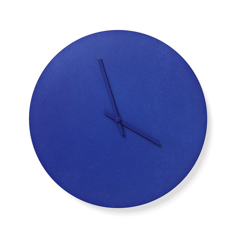 Norm Steel Clock in Blue by Menu - Made Modern
