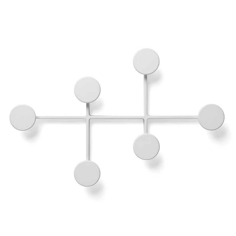 Afteroom Coat Hanger in White by Menu - Made Modern - 1