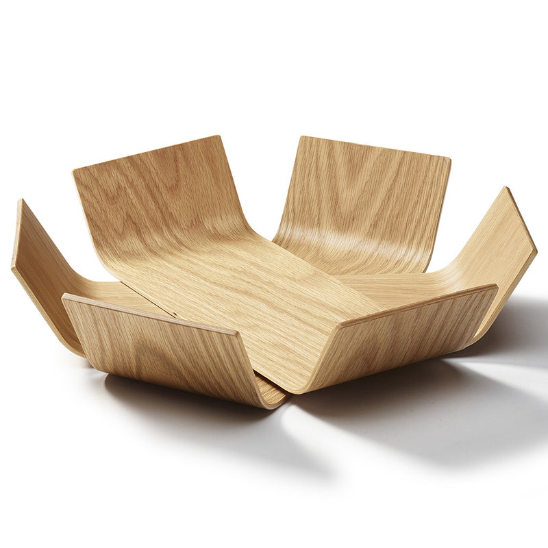 Medium Oak Lily Bowl by BEdesign - Made Modern - 1