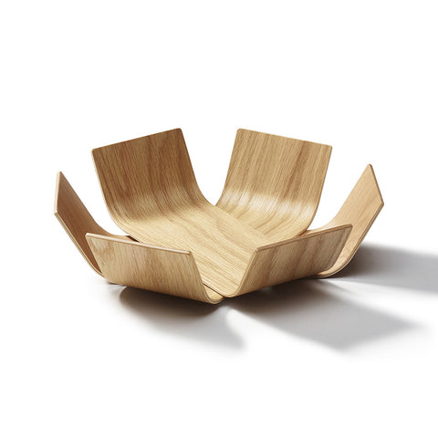 Small Oak Lily Bowl by BEdesign - Made Modern - 2